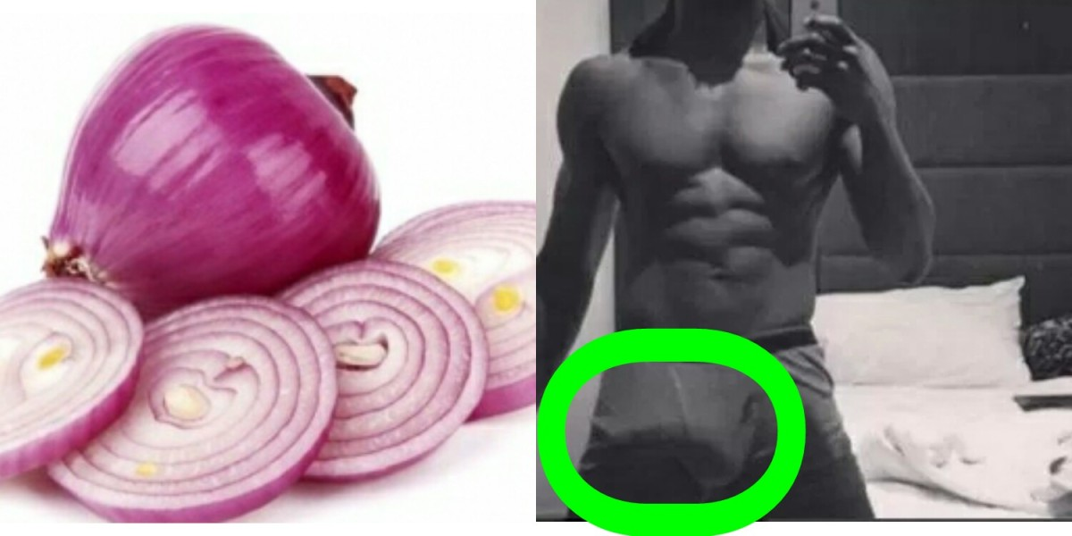 GUYS! See How Onions Can increase and enlarge Your Anaconda