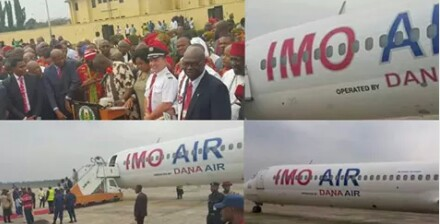 IMO STATE GOVERNMENT TAKES DELIVERY OF ITS AIRPLANE IN OWERRI, BECOMES FIRST STATE IN NIGERIA TO HAVE ITS OWN AIRLINE