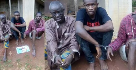PHOTOS: 75-YEAR-OLD RETIRED SOLDIER ARRESTED OVER ALLEGED ARMED ROBBERY IN EDO STATE