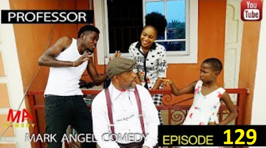 WATCH AND DOWNLOAD VIDEO: PROFESSOR – MARK ANGLE COMEDY [EPISODE 129]